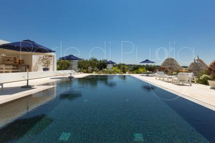 luxury villas - Ostuni ( Brindisi ) - Le Ali Bianche (luxury top design villa)