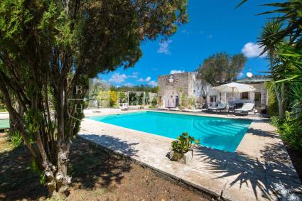Masseria for 7 guests with swimming pool